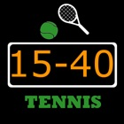 Save-score. Keep tennis scores icon