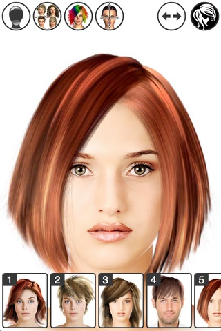 Hairstyle Magic Mirror screenshot 1