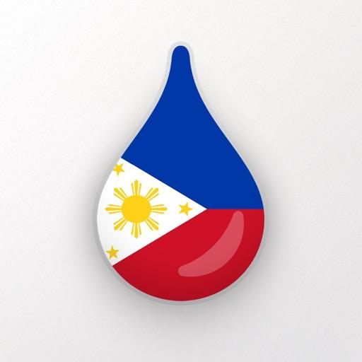 Drops: lingua tagalog