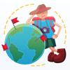 Mark O'Travel - mapa de viagem