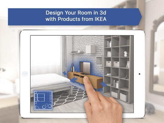 iPad Screenshot 1. Room Planner 3D for IKEA on the App Store