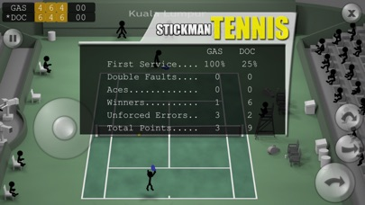 Stickman Tennis Screenshots