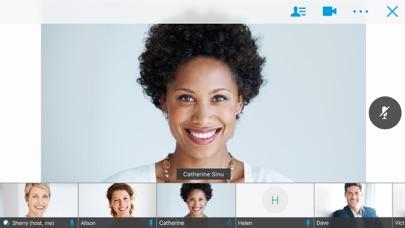 Cisco WebEx Meetings screenshot one