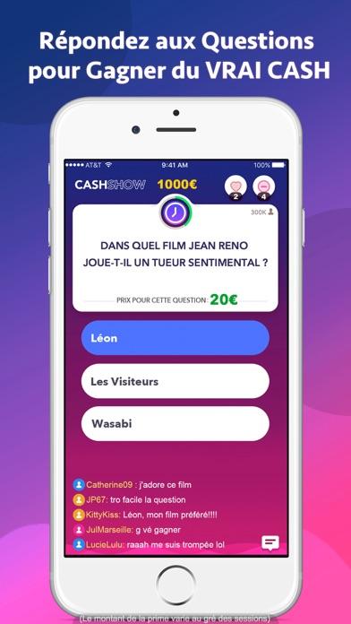 download Cash Show - Gagnez du Cash ! apps 0