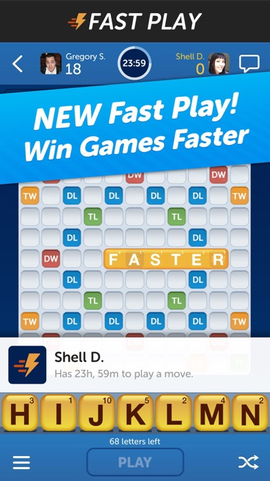 games like words with friends for iphone