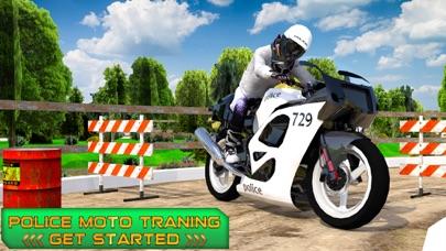 Police Moto Training screenshot 1