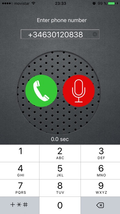 Call and Records screenshot1