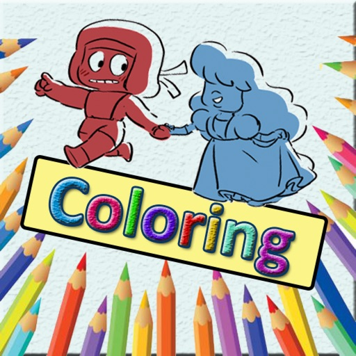 Kid Drawing Coloring Book For Steven Universe iOS App