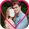 情人節面對互換 - 最好的愛夫婦照片衣服