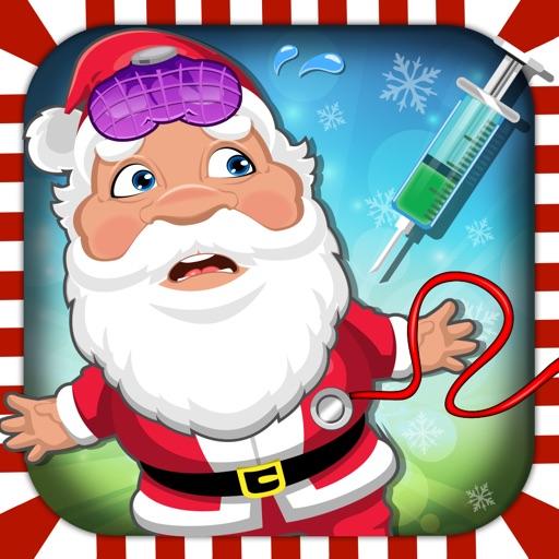 Crazy Santa Hospital Doctor - Christmas fun dentist, nose & eye care makeup games for girls iOS App