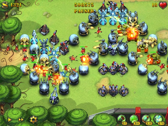 Fieldrunners for iPad Screenshot