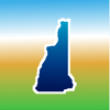Aqua Map New Hampshire NH Lakes - Nautical Charts