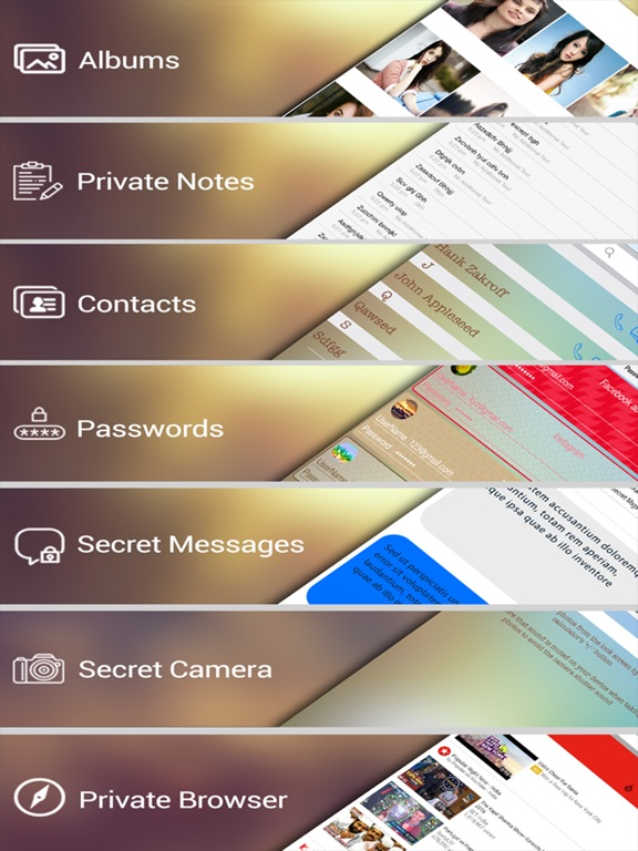 Calculator Safe Vault - Store your privates Скриншоты8