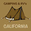 California – Campgrounds & RV Parks Icon