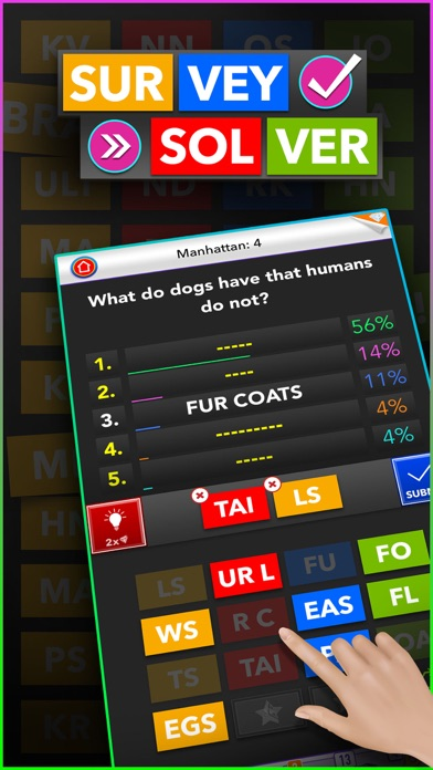 Survey Solver - Feud with Your Family Screenshot on iOS