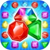 Jewel Gems Pop Matching puzzle Games free for iPhone/iPad