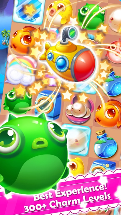 Charm fish mania match quest app report on mobile action for Fish mania game