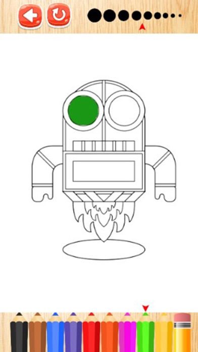Robots Game Coloring Book PRO On The App Store
