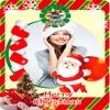 快樂聖誕相框-垂直卡