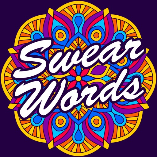 Swear Words Coloring Book - Release Your Anxiety iOS App