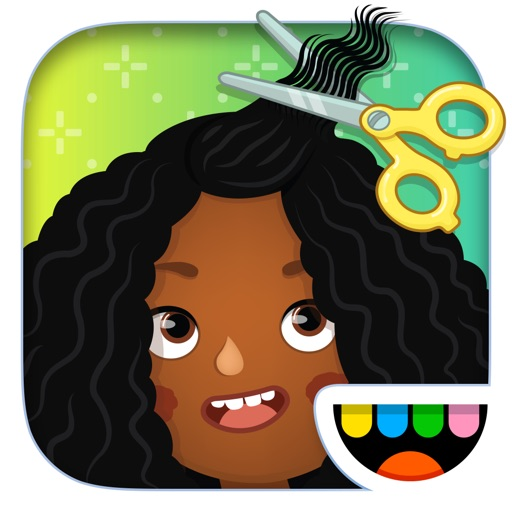 Toca Hair Salon 3 app for ipad