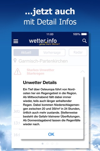 Wetter von t-online.de screenshot 3