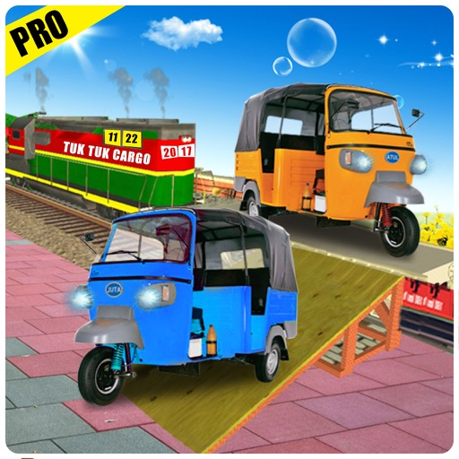 Tuk Tuk Cargo Train Transport Pro iOS App