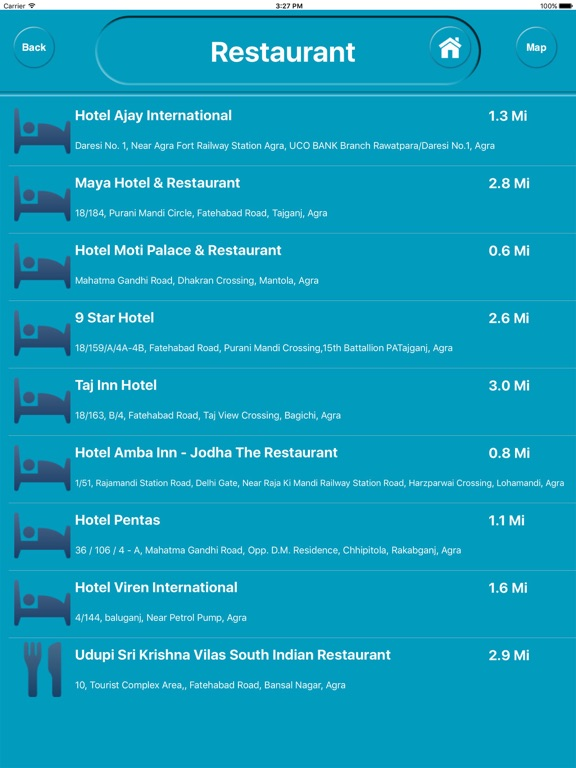 Agra india Offline Maps (eMap) Скриншоты9