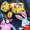 3D Pet Chase City Highway Racing Dash Free Games subway surfers