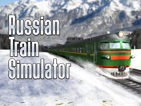 Russian Railway Train Simulator 3D на iPad