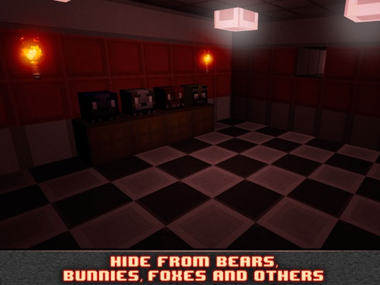 Nights at Cube Pizzeria 3D-ipad-3
