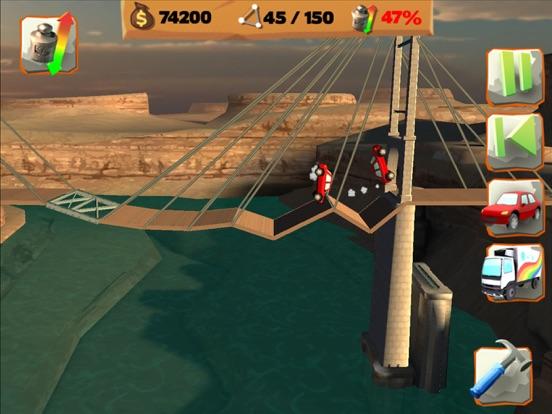 Bridge Constructor Playground Скриншоты10