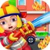 Feuerwehr Feuerrettung Spiel für Kinder und Jungs