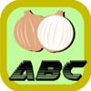 Vegetable ABC Practice Learning Draw attend