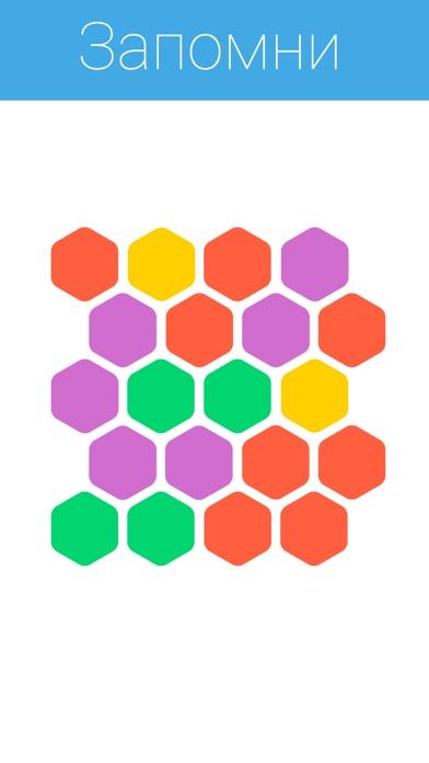 Hexabrain - тренируй память! Screenshot