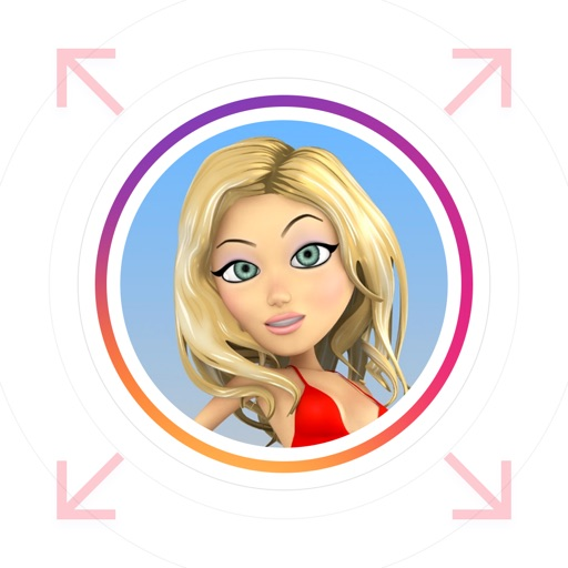 InstaZoom - Profile Pictures Zoomer for Instagram App Ranking & Review