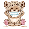 Emoji Cartoon Leopard Cub Stickers Wiki