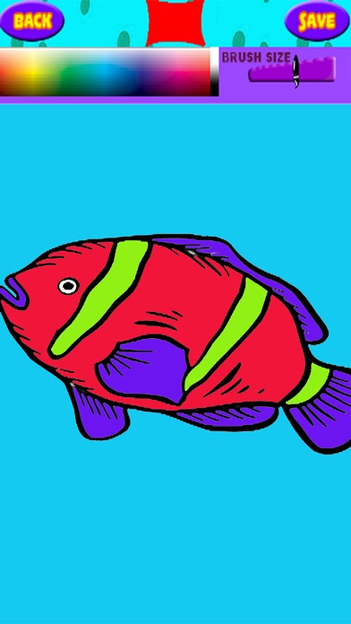 fish coloring pages games kids - photo#30