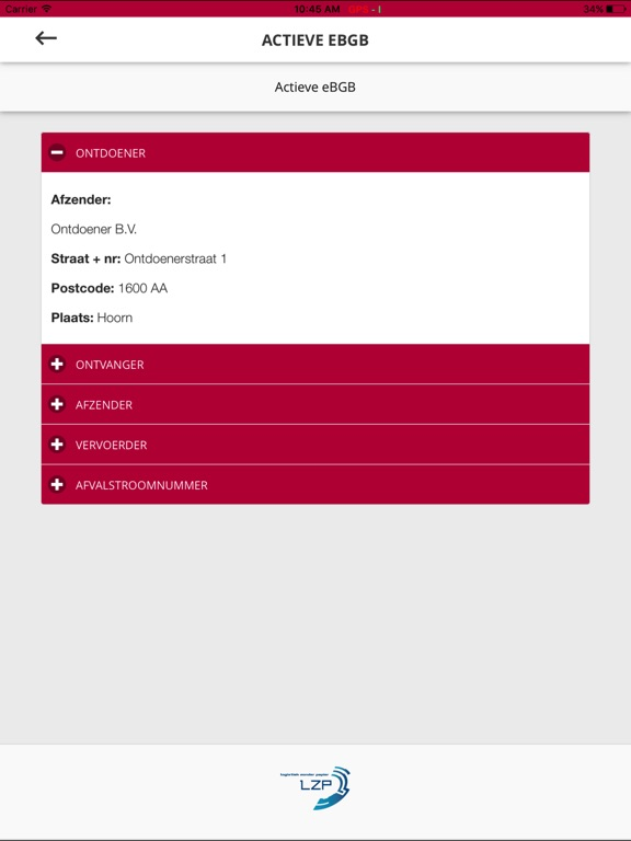 Screenshot #5 for SWF - Logistiek Zonder Papier