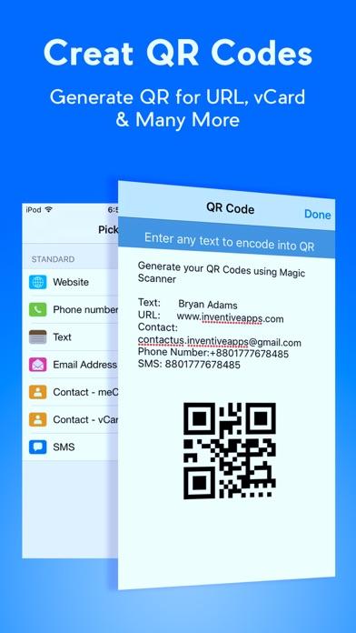 qr code reader qr scanner qr code generator on the app store. Black Bedroom Furniture Sets. Home Design Ideas