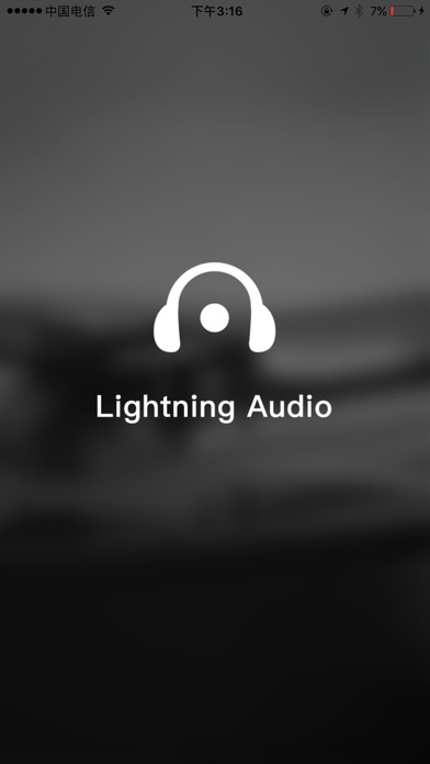 Screenshot for Lightning Audio in United States App Store