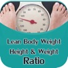 Lean Body weight Calculator & Height Weight Ratio