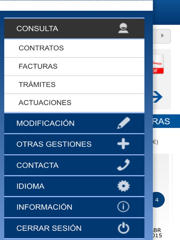 Agamed oficina virtual en el app store for Viesgo oficina online