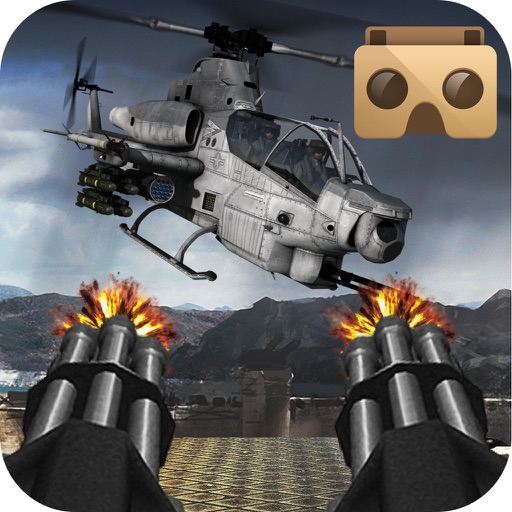 VR Gunship Rescue Helicopter Battle iOS App