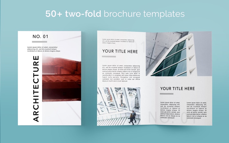 App shopper brochure templates 100 brochures for pages for Brochure template mac