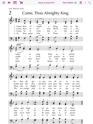 Glory to God Hymnal screenshot 2