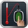Finger Body Temperature Prank -Scan Blood Pressure