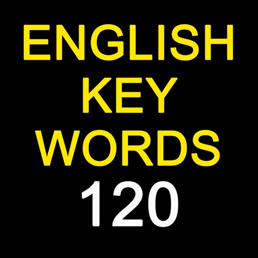 English Keywords 120 iOS App