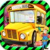 School Bus Mechanic Simulator Workshop Factory 2D App