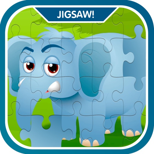 Learn Zoo Animals Jigsaw Puzzle Game For Kids images